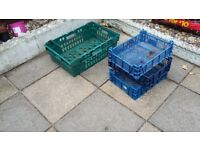FREE Plastic Crate Trays