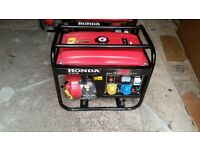 Honda generator petrol 6.5 kva 4 stroke Brand New Quick Sale