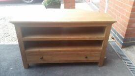 Wooden television table for sale