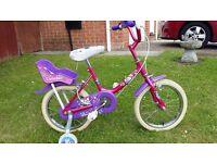 Rayleigh 'Twinkle' 14 inch girls bike