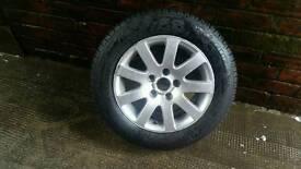 Alloy wheel 5x112 vw Passat 15 inch brand new tire