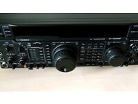 YAESU FT-1000MP WITH EXTRA FILTERS