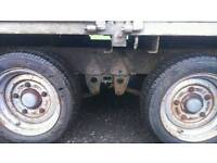 Ivor Williams car trailer with sides full working order ready to use