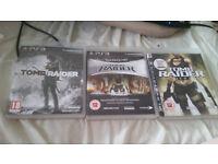 Lara Croft PS3 Games