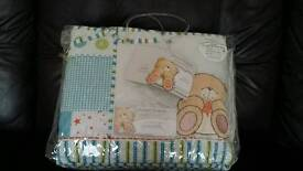 Forever Friends cot bed bedding set - new
