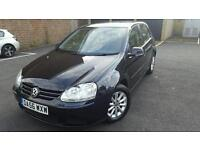 2007(DA56WXW) VOLKSWAGEN GOLF 1.9 DIESEL AUTOMATIC WARRANTED MILEAGE