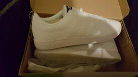 Brand new, never worn white Adidas Neo trainers