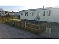 holiday resort unity 8 berth caravan for hire
