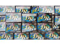 30 Fuji DR2 90 cassette tape