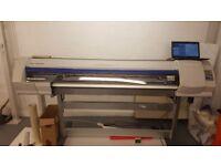 Roland SP540V Large Format Printer CMYK