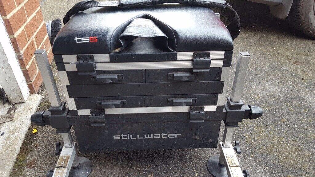 3ce26a8033e Fishing Seat Box & Footplate Stillwater TS5 | in Churchdown ...