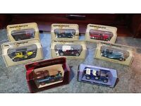 Vintage Matchbox Models of Yesteryear Collection