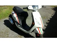 sinnis street 50cc scooter 14reg only 300 miles