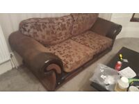 3 seater and 2 single seat sofa FOR SALE