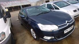 2008 CITROEN C5 VTR, 1.6 HDI, BREAKING FOR PARTS ONLY, POSTAGE AVAILABLE NATIONWIDE