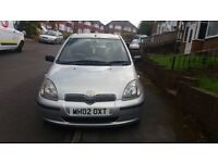 GREAT PRICE! Toyota Yaris 1.3 VVT-i 16v CDX 5dr, Automatic, LONG MOT, Full service history!
