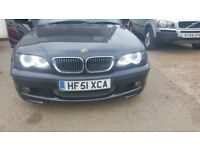 breaking parts bmw e46 330i facelift front headlights xenon angel-radiator-exhaust-catalytic-wing