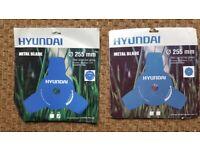Hyundai brush cutter metal blades 255mm