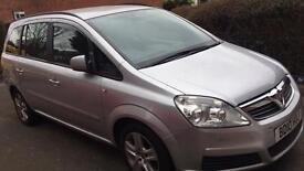Vauxhall zafira 1.7 diesel 2010