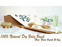New Dry Body&Face Detox Brush Set-Reduce Cellulite -Beautiful Skin -Gift for her