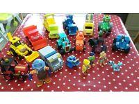 Bob the Builder toy set