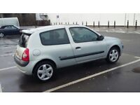 2003 1.2 Silver Renault Clio - low mileage, great runner