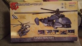 Gears of War construction set . Still in original box . Opened and played with once.