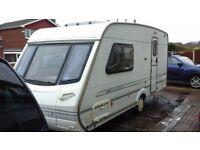 2002 Abbey Impression 420 2 Berth Caravan