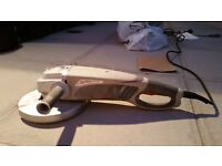 2200W, 230mm Long Handle Angle Grinder - boxed