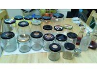 Glass Jars/Perfume bottles