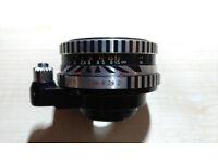 Carl Zeiss Jena Pancolar 1Q 50mm F/2.0 Exakta Mount Zebra Vintage Old Camera Lens