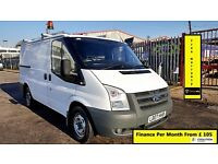 Ford Transit Low Roof SWB Panel Van 2.2 300 43k Miles Only -1 Owner- FSH- 1YR MOT -Warranty 260 280