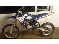 YAMAHA YZ85 MOTOCROSS BIKE BIG WHEELS JUST HAD ENGINE REBUILD