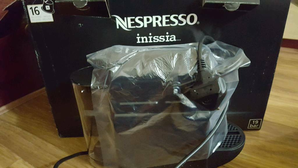 Nespresso inissia by Magimix in Black | in Romford, London | Gumtree