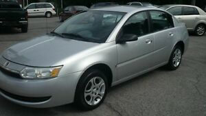2003 Saturn Berline Ion SPECIAL $2050.00 112981 KILOMETERS TRAIT