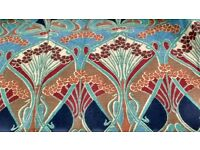 William Morris print curtain
