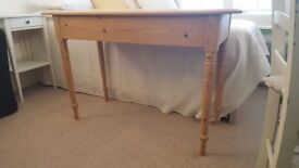 Pretty Antique Pibe Side Table