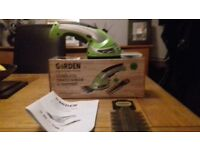 Garden cordless hedge trimmer/cutter........ mini handheld........ used ONCE