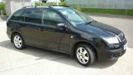07/57 Skoda Fabia Classic Estate 1.2 HTP 12V Petrol MOT Aug 18 Service History Two Keys