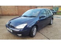 Ford focus automatic ghia 1.6 low mileage some service history in good condition mot oct