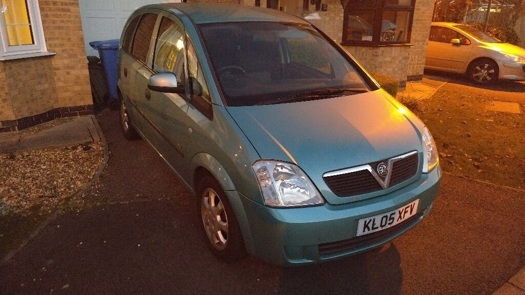 1.8 Vauxhall Mervia. 6 months MOT. 86000miles. Alloy wheels. Ok condition. £800 o.v.n.o
