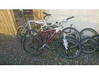 Job lot of bikes mountain Specialized giant trek electric