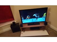 Sony home theather set - dvd player with speakers