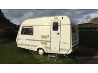 Coachman oasis 2 berth caravan with awing and many extras!