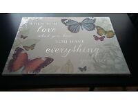 Butterflies canvas