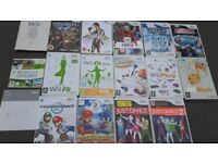 wii games bundle of 14 different games