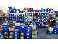STORAGE CONTAINERS - STACKABLE TUBS OVER 200 AVAILABLE
