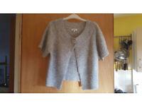Gorgeous pale grey jacket / jumper / cardigan from Papaya. Size 16, £2
