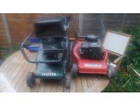 Hayter & mountfield lawnmowers