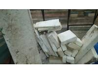 polystyrene insulation off cuts